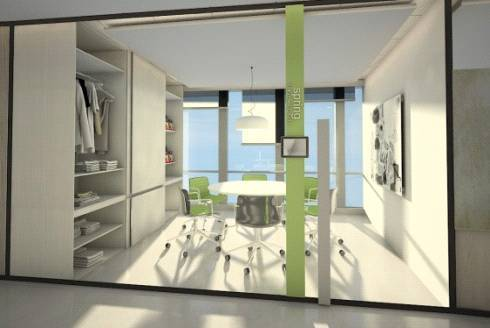 Tito Lukito Busana Apparel Office At Axa Tower Jakarta, Indonesia Jakarta, Indonesia Office-View3 Modern  2871