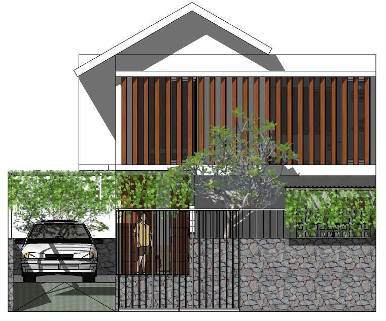 Tala Desco Sani House-Ujungberung Bandung Bandung Front View   3114