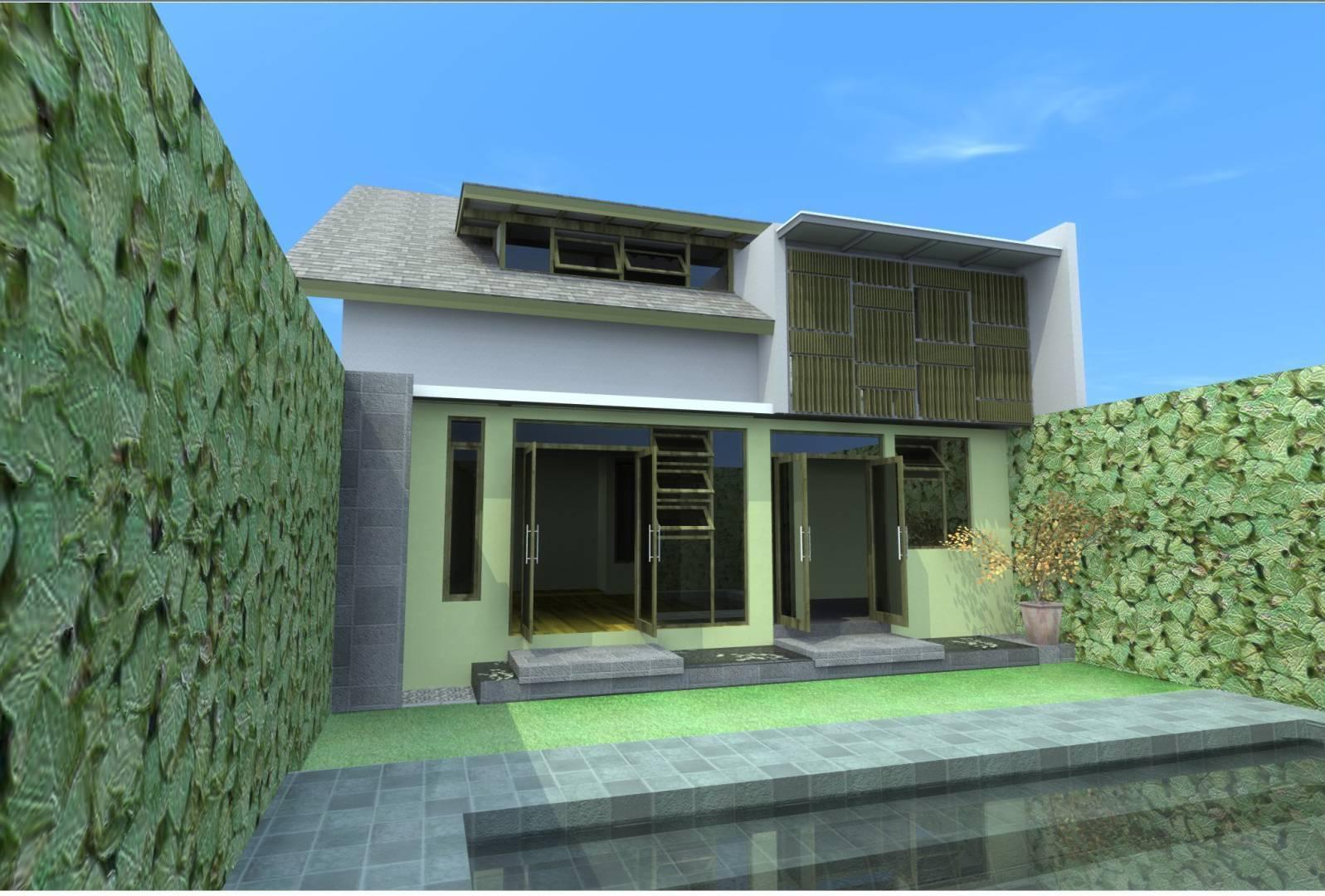 Aristokrasi Prima Rivan Consultan House At Serang Banten Banten Backyard-View   3172