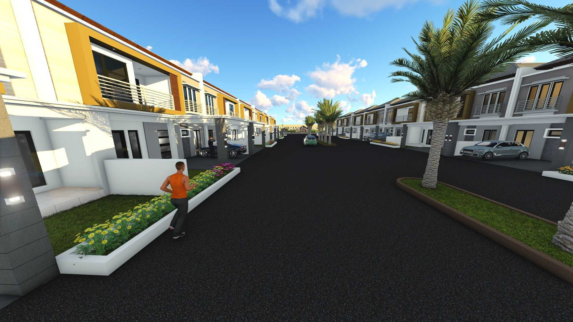 Harmony Architecture Arjuna Residence Cilegon, Kota Cilegon, Banten, Indonesia  Walkway Modern  36943