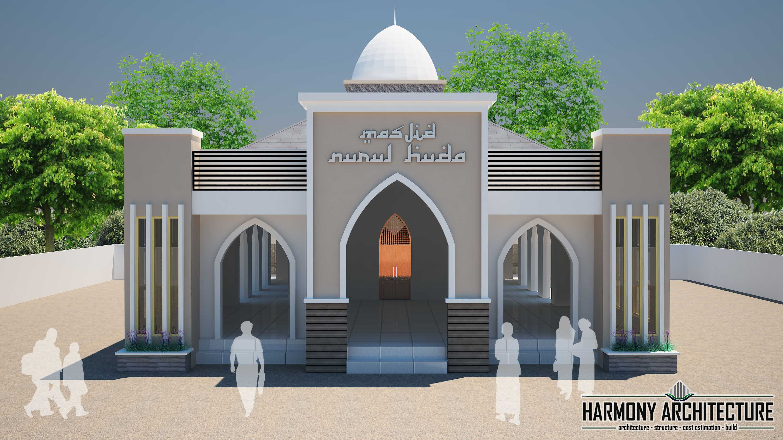 Photo Masjid Nurul Huda Front View Masjid Nurul Huda 2 Desain