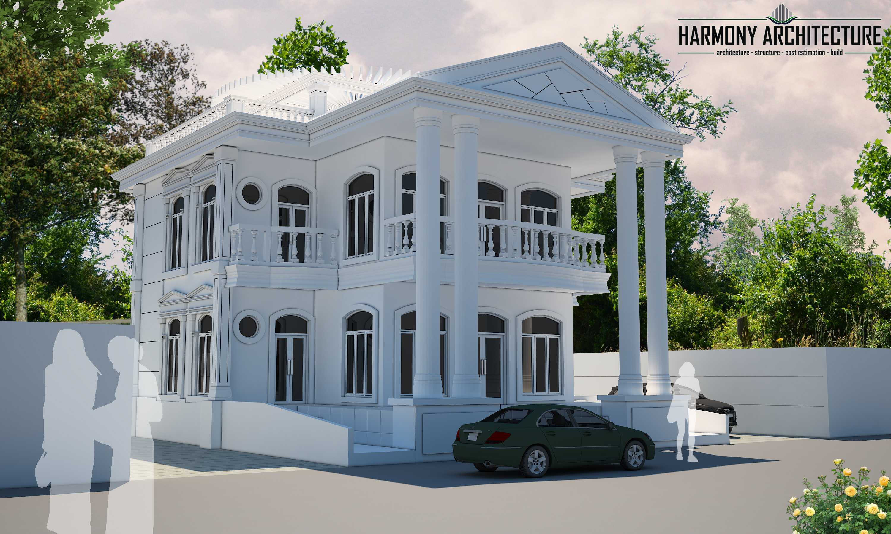 Harmony Architecture White House Of Timor Timor-Leste Timor-Leste Harmony-Architecture-White-House-Of-Timor Classic Perspektif 52516
