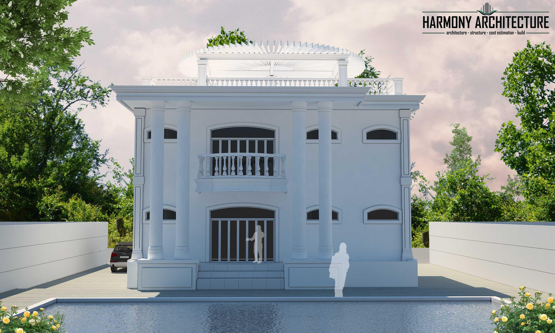 Harmony Architecture White House Of Timor Timor-Leste Timor-Leste Harmony-Architecture-White-House-Of-Timor Classic Tampak Belakang 52518