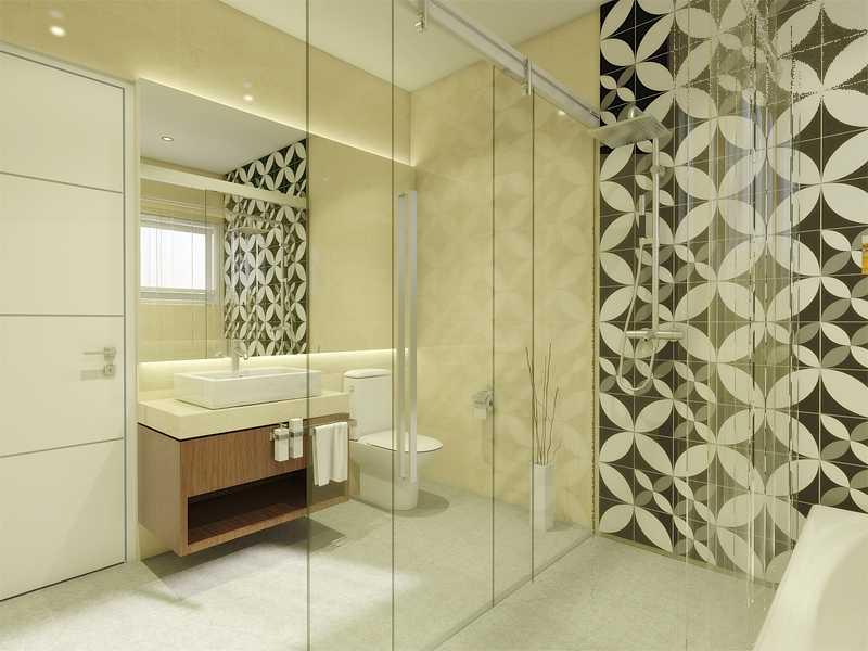 Arsita Studio Architecture Javanese Bw House Surabaya, Jawa Timur Surabaya, Jawa Timur Bathroom Modern  19848
