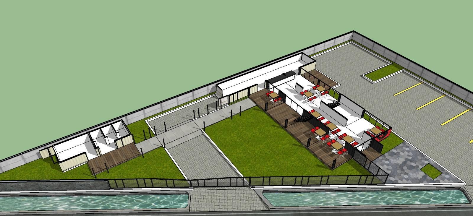 Arsita Studio Architecture Maco Cafe Gresik, Jawa Timur Gresik, Jawa Timur Floor-1 Industrial  3285