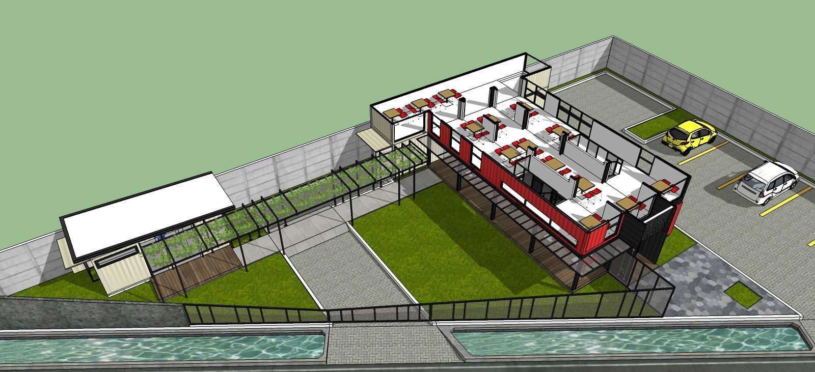 Arsita Studio Architecture Maco Cafe Gresik, Jawa Timur Gresik, Jawa Timur Floor-2 Industrial  3286