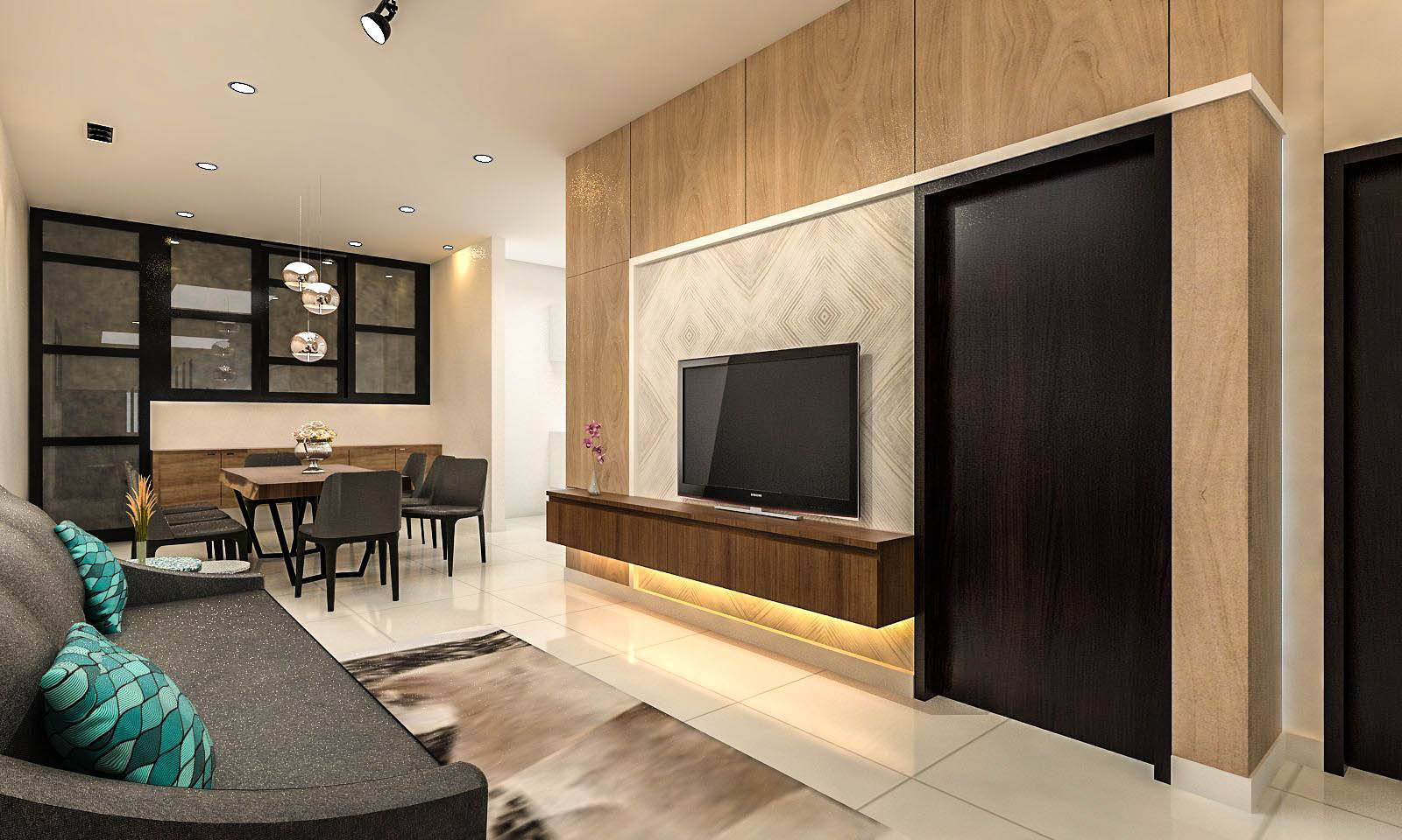 Graharupa Cipta Kirana Pluit Residence Pluit Sakti Pluit Sakti Living And Dining Room Modern  6808