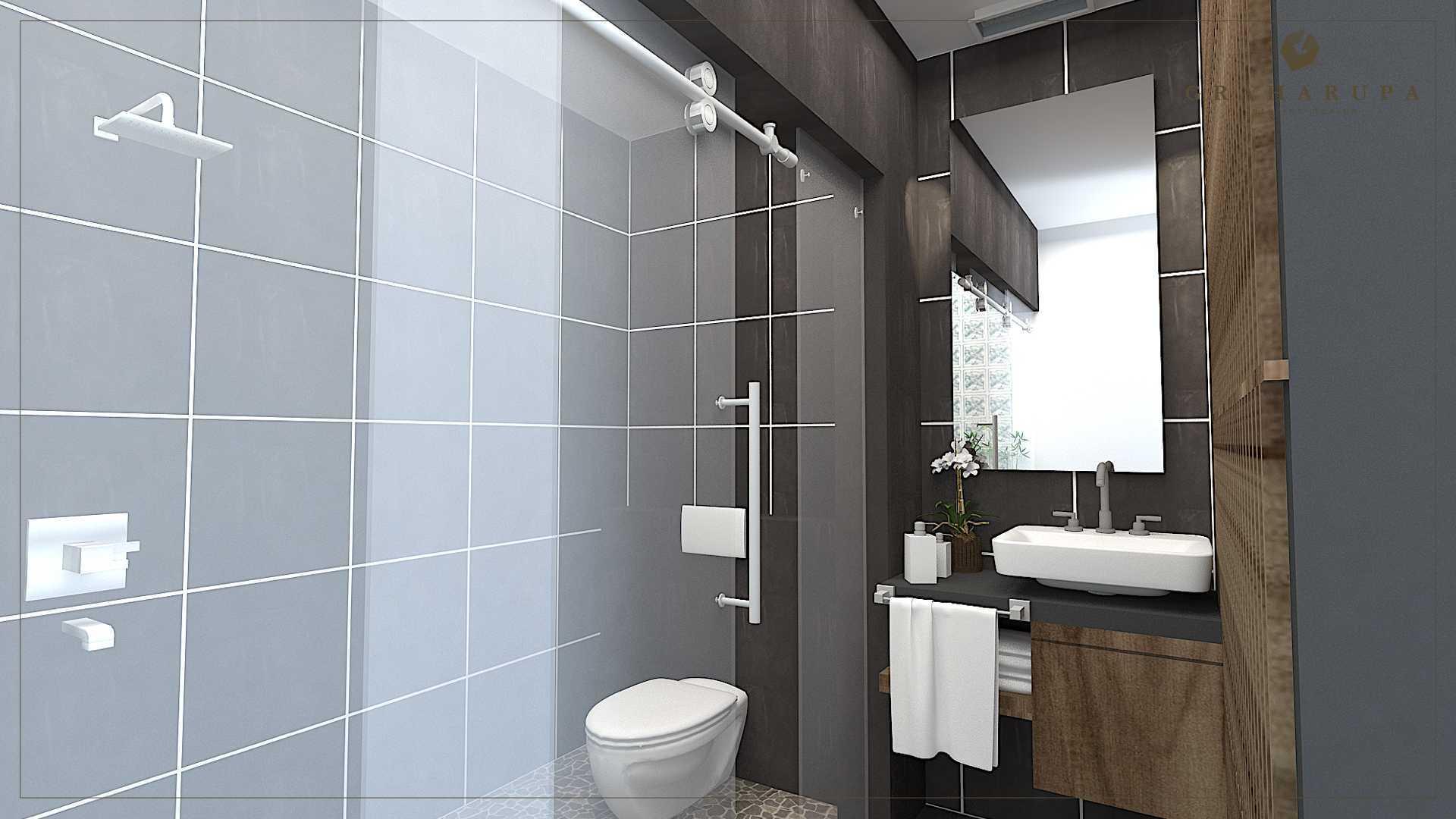 Graharupa Cipta Kirana J House Cikarang Cikarang Master Bathroom Modern  24066