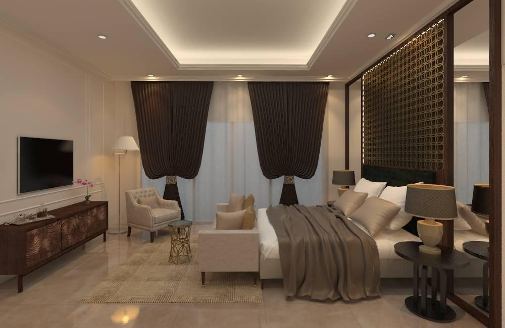 Graharupa Studio Springhill Golf View Springhill, Jakarta Springhill, Jakarta Bedroom Modern  6245