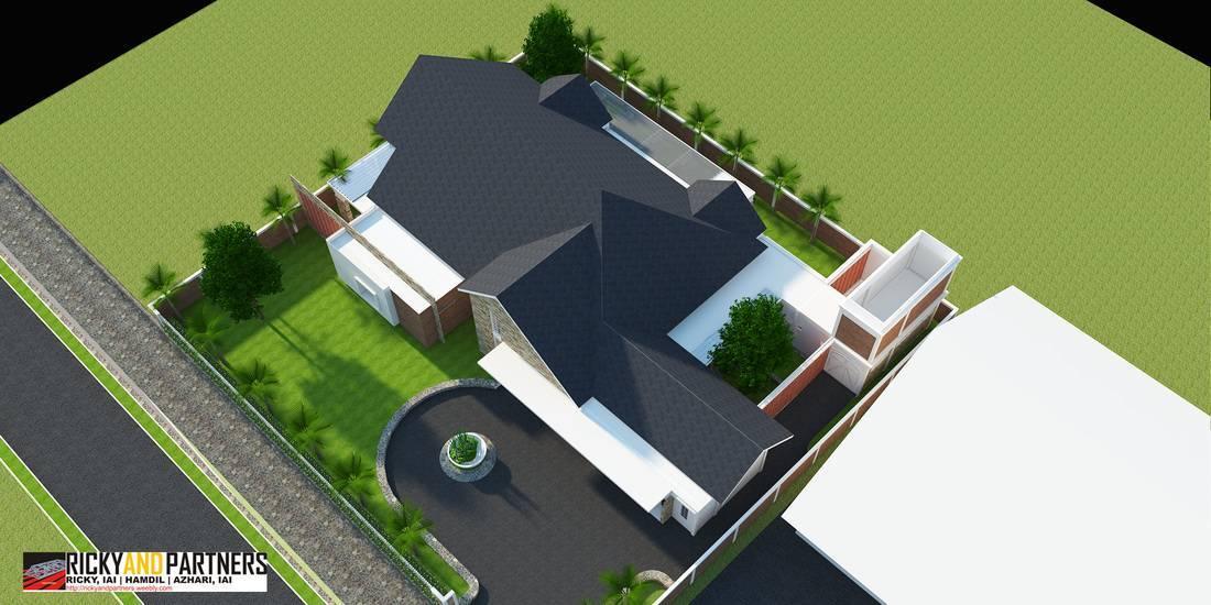 Rickyandpartners Architect Studio Y House At Merauke Papua, Indonesia Papua, Indonesia Top-View Kontemporer  3333