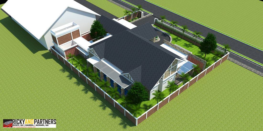Rickyandpartners Architect Studio Y House At Merauke Papua, Indonesia Papua, Indonesia Side-Aerial-View Kontemporer  3334