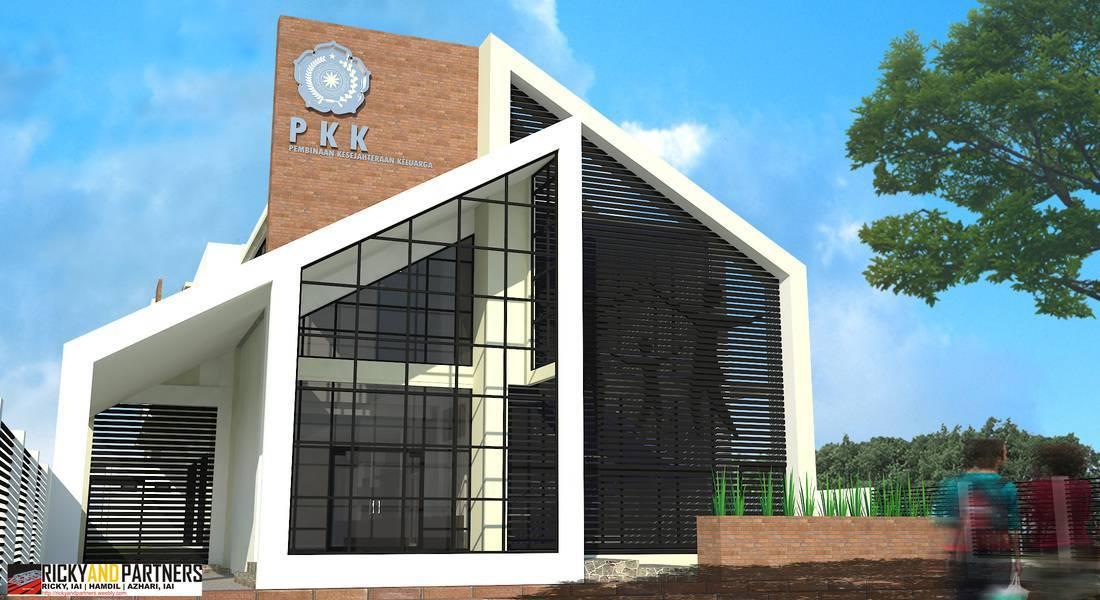 Rickyandpartners Architect Studio Pkk Service Building At Pontianak West Kalimantan, Indonesia West Kalimantan, Indonesia Facade   3351