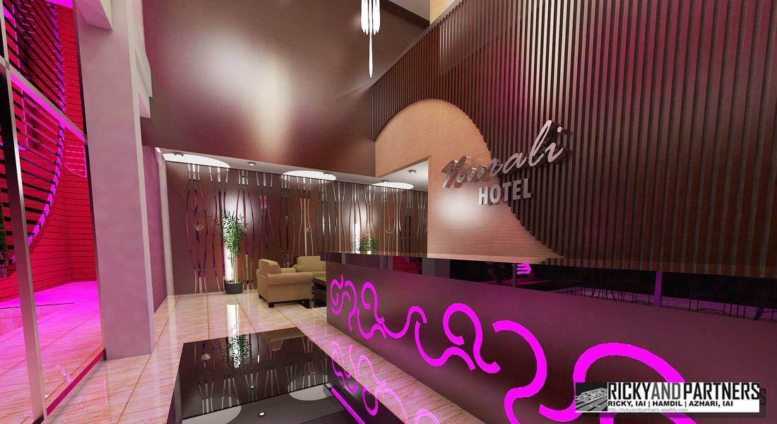 Rickyandpartners Architect Studio Nurali Hotel At Pontianak West Kalimantan, Indonesia West Kalimantan, Indonesia Lobby-View Modern  3367