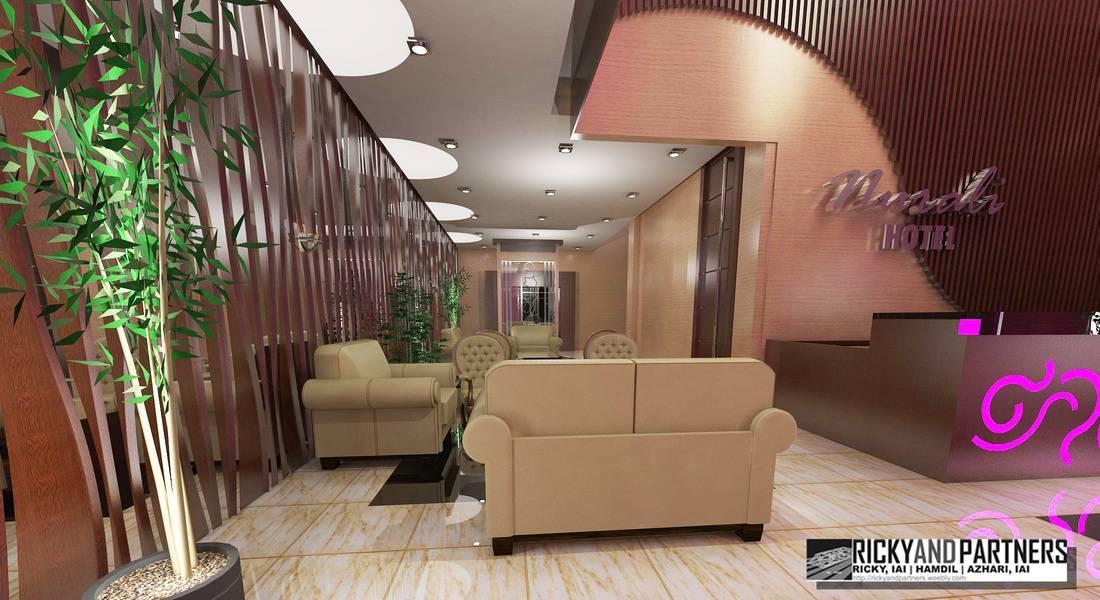 Rickyandpartners Architect Studio Nurali Hotel At Pontianak West Kalimantan, Indonesia West Kalimantan, Indonesia Lobby-View2 Modern  3368