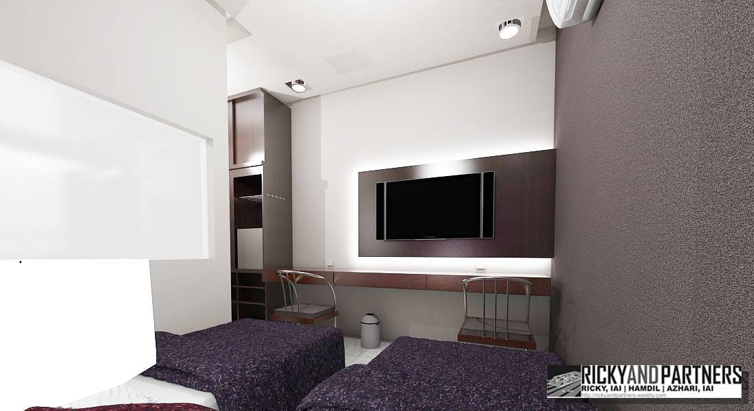 Rickyandpartners Architect Studio Nurali Hotel At Pontianak West Kalimantan, Indonesia West Kalimantan, Indonesia Single-Bedroom2 Modern  3371