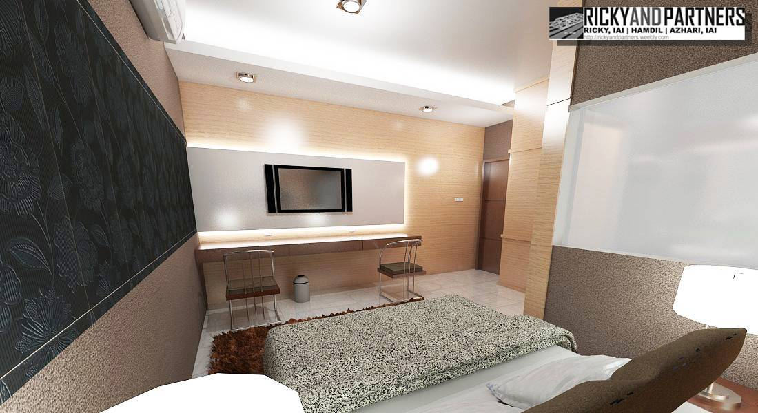 Rickyandpartners Architect Studio Nurali Hotel At Pontianak West Kalimantan, Indonesia West Kalimantan, Indonesia Bedroom-Interior Modern  3372