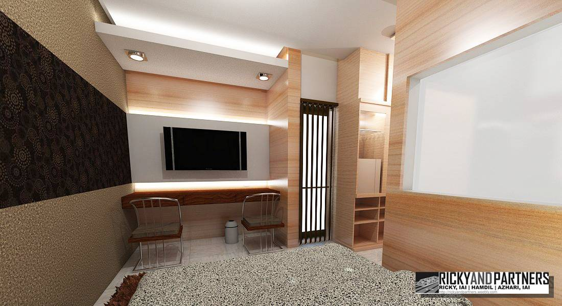 Rickyandpartners Architect Studio Nurali Hotel At Pontianak West Kalimantan, Indonesia West Kalimantan, Indonesia Bedroom-Interior3 Modern  3374