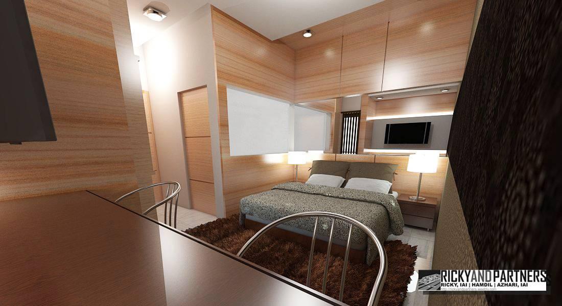 Rickyandpartners Architect Studio Nurali Hotel At Pontianak West Kalimantan, Indonesia West Kalimantan, Indonesia Bedroom-Interior4 Modern  3375