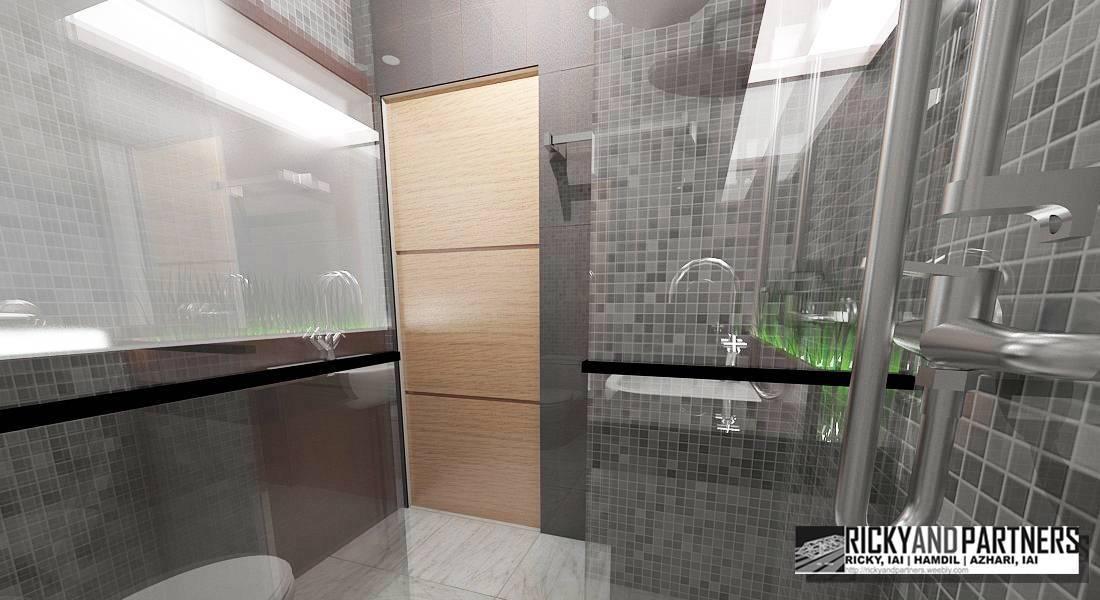 Rickyandpartners Architect Studio Nurali Hotel At Pontianak West Kalimantan, Indonesia West Kalimantan, Indonesia Bathroom-Interior Modern  3376