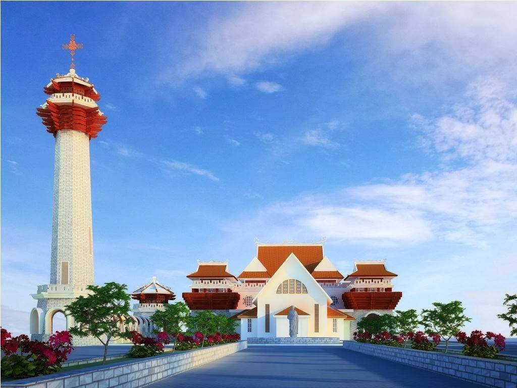 Rickyandpartners Architect Studio Stella Maris Church At Pontianak West Kalimantan, Indonesia West Kalimantan, Indonesia Front-View Tradisional  3396