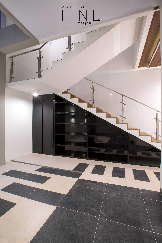 Fine Team Studio Muara Bungo Residence Muara Bungo, Jambi Muara Bungo, Jambi Stairs Minimalis  16635
