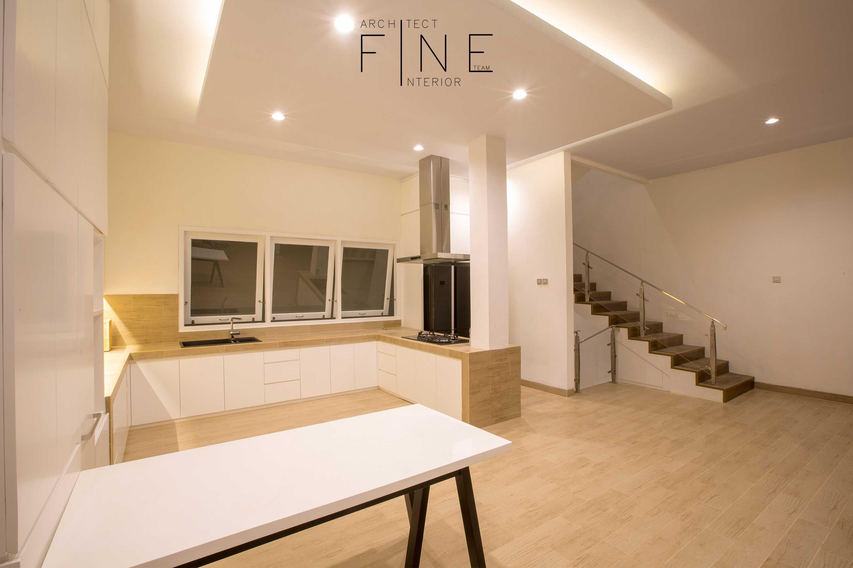 Fine Team Studio Muara Bungo Residence Muara Bungo, Jambi Muara Bungo, Jambi Kitchen Minimalis  16640
