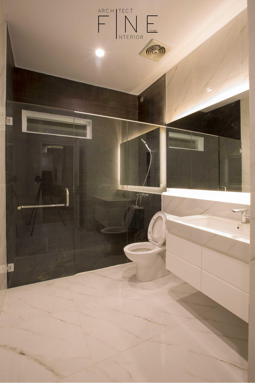 Fine Team Studio Muara Bungo Residence Muara Bungo, Jambi Muara Bungo, Jambi Bathroom Minimalis  16648