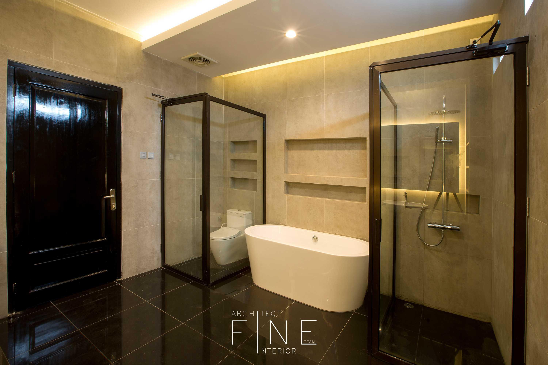 Fine Team Studio Muara Bungo Residence Muara Bungo, Jambi Muara Bungo, Jambi Bathroom Modern  16666