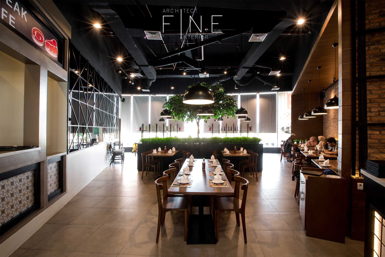Fine Team Studio Will's Steak Mall Cipianng Indah Mall Cipinang Indah, Jakarta Mall Cipinang Indah, Jakarta Dining Area Kontemporer  16672