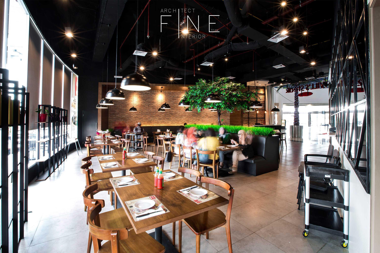 Fine Team Studio Will's Steak Mall Cipianng Indah Mall Cipinang Indah, Jakarta Mall Cipinang Indah, Jakarta Dining Area Kontemporer  16676