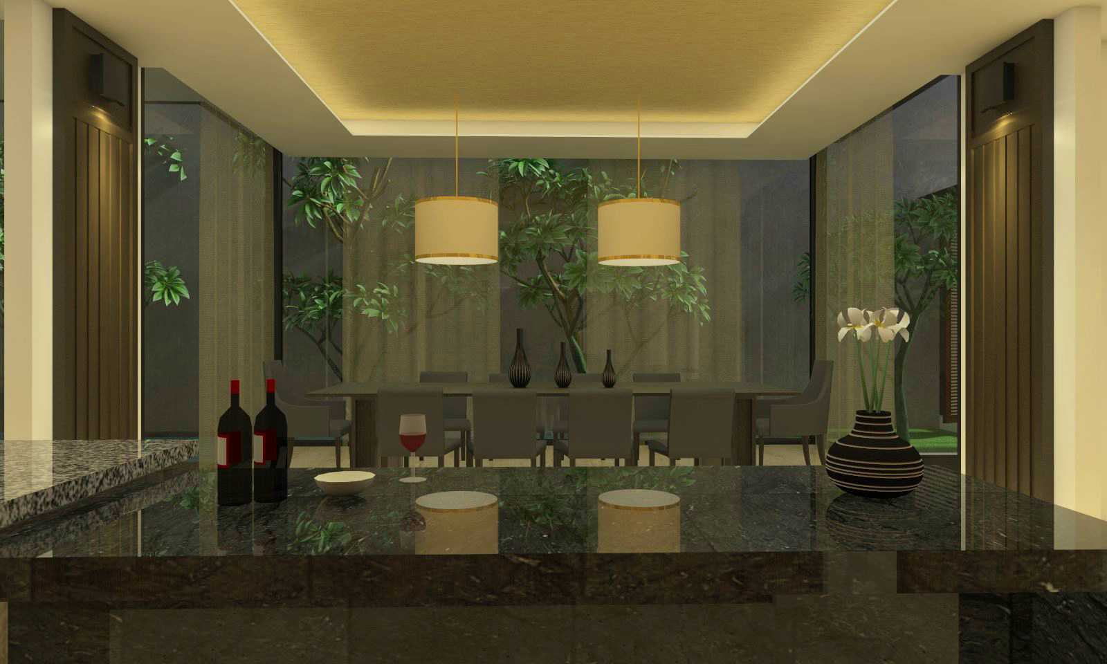 Welly Kusumo Jh Residence Alam Sutra Alam Sutra Diningroom   15213