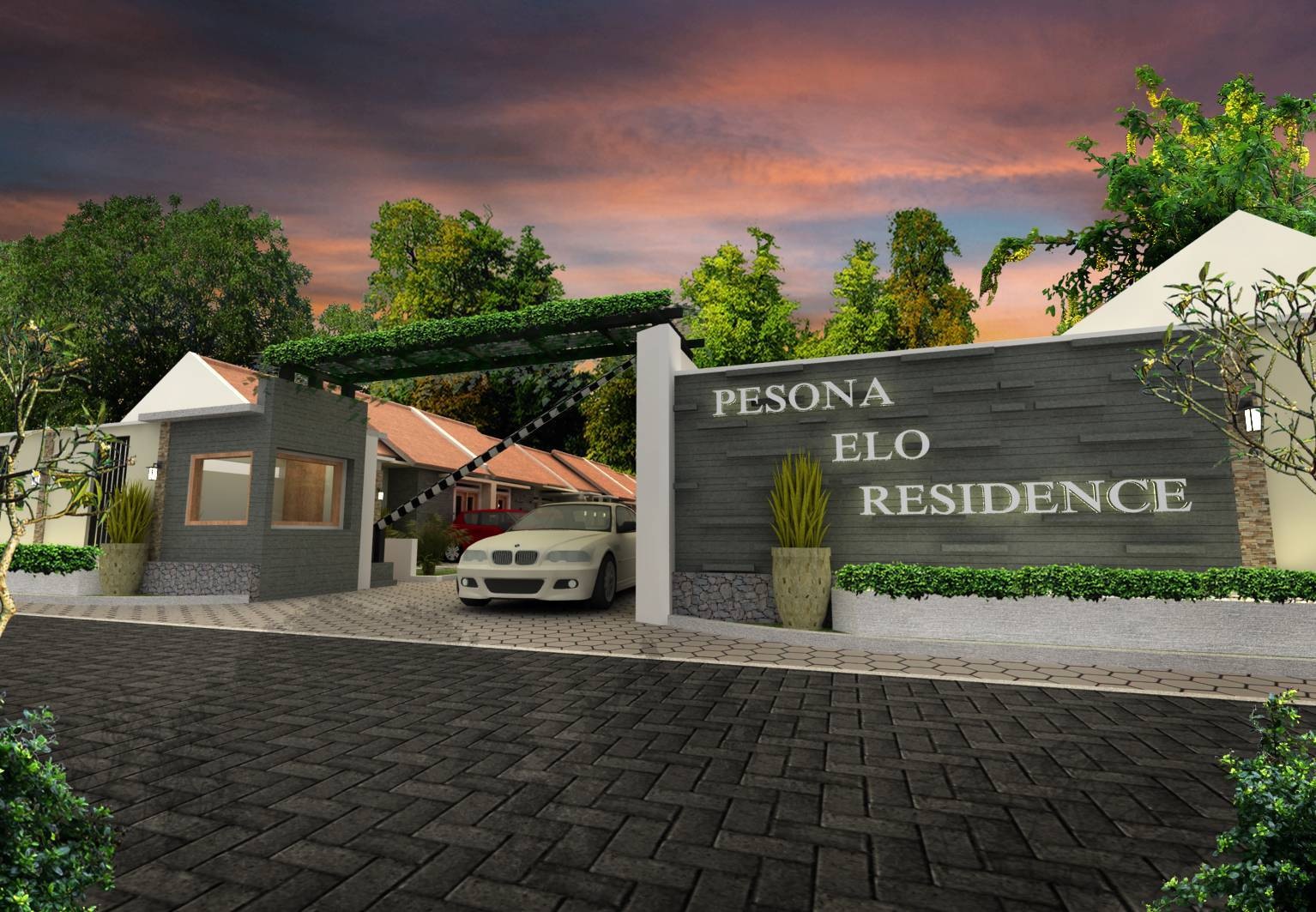Pt. Fectic Maha Karya Pesona Elo Residence Magelang, Middle Java, Indonesia Magelang, Middle Java, Indonesia Main-Gate   5011