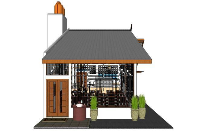 Pt. Fectic Maha Karya Malay Restaurant At Pekanbaru Riau, Indonesia Riau, Indonesia Front-View Asian  5103