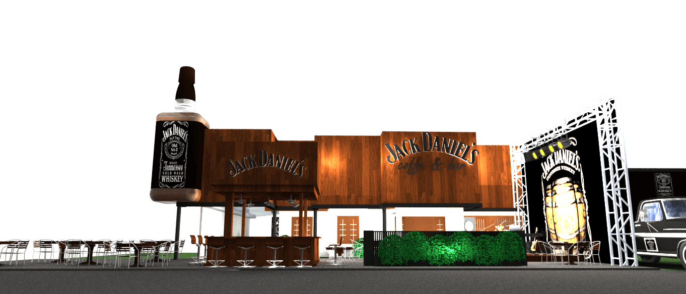 Pt. Fectic Maha Karya Jack Daniel's Cafe Yogyakarta, Indonesia Yogyakarta, Indonesia Front-View3 Klasik  5112
