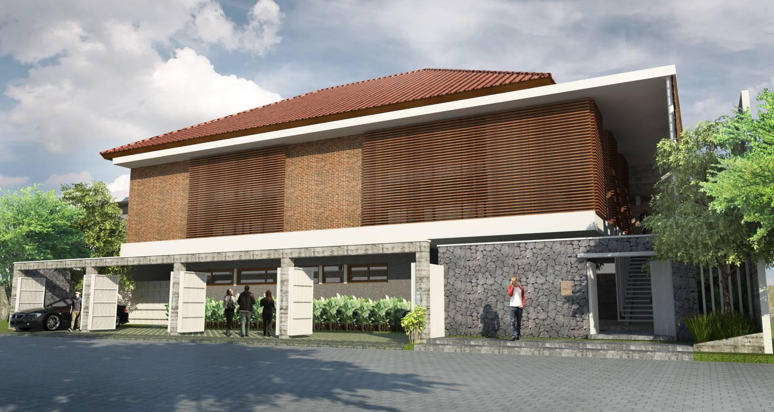 Para Architects Rumah Tamu Sidoarjo, Jawa Timur Sidoarjo, Jawa Timur Facade   3716