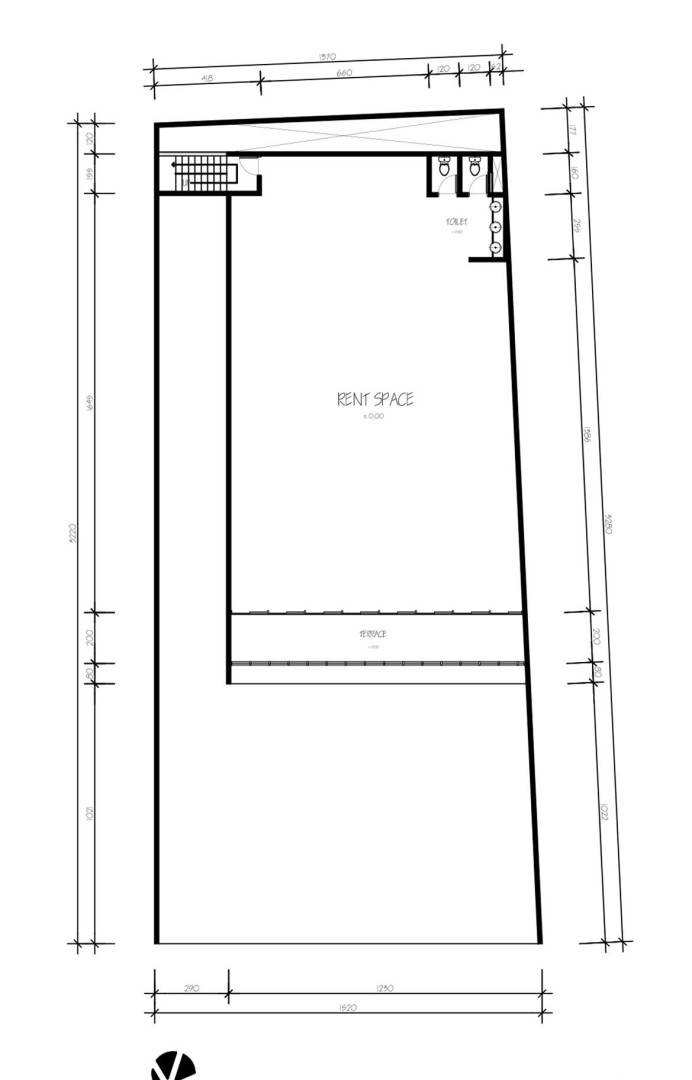 Para Architects Lembong Land By Para Architects Bandung, West Java, Indonesia Bandung, West Java, Indonesia 4Th-Floor-Plan Modern  4603