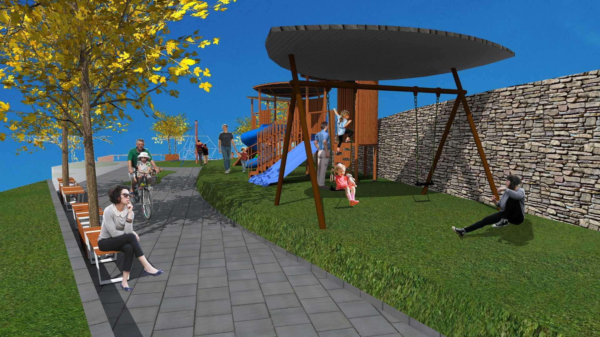 Tau Architect Hollland Park Playground Batu Malang Batu Malang Holland-Park Modern  11117