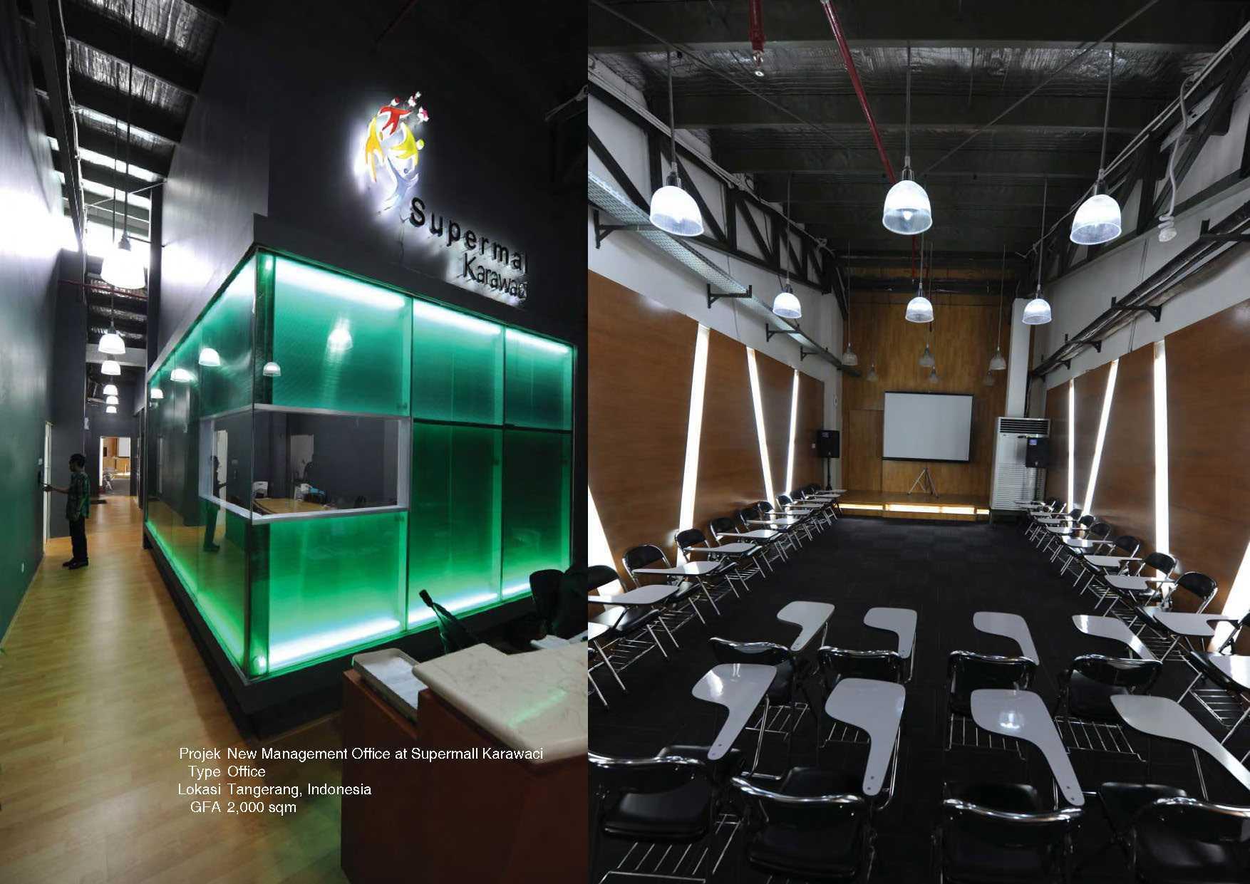 Tau Architect Supermal Karawaci Management Office Karawaci Karawaci Office Industrial  13818
