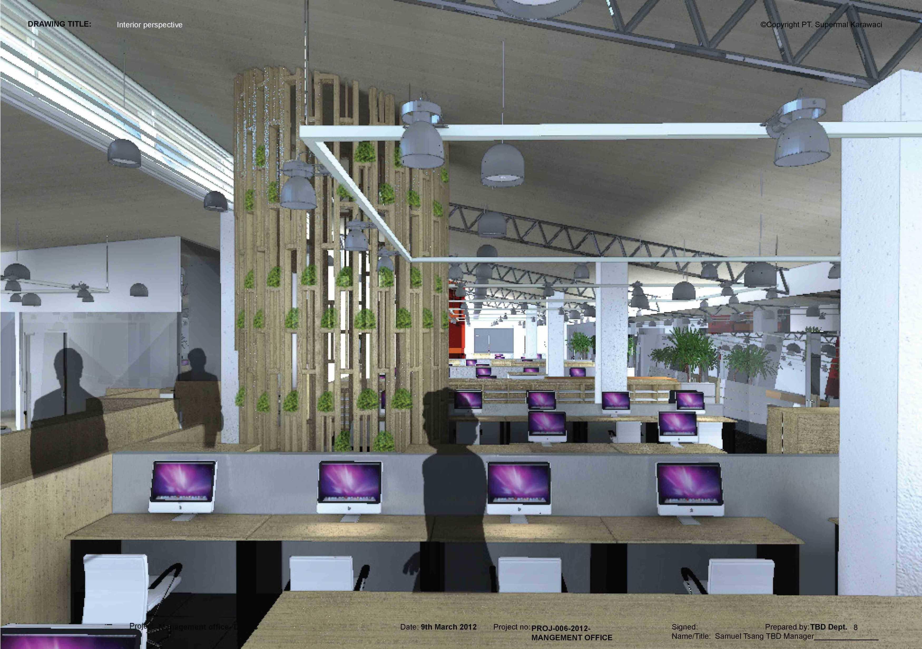 Tau Architect Supermal Karawaci Management Office Karawaci Karawaci Staff Area Industrial  13823