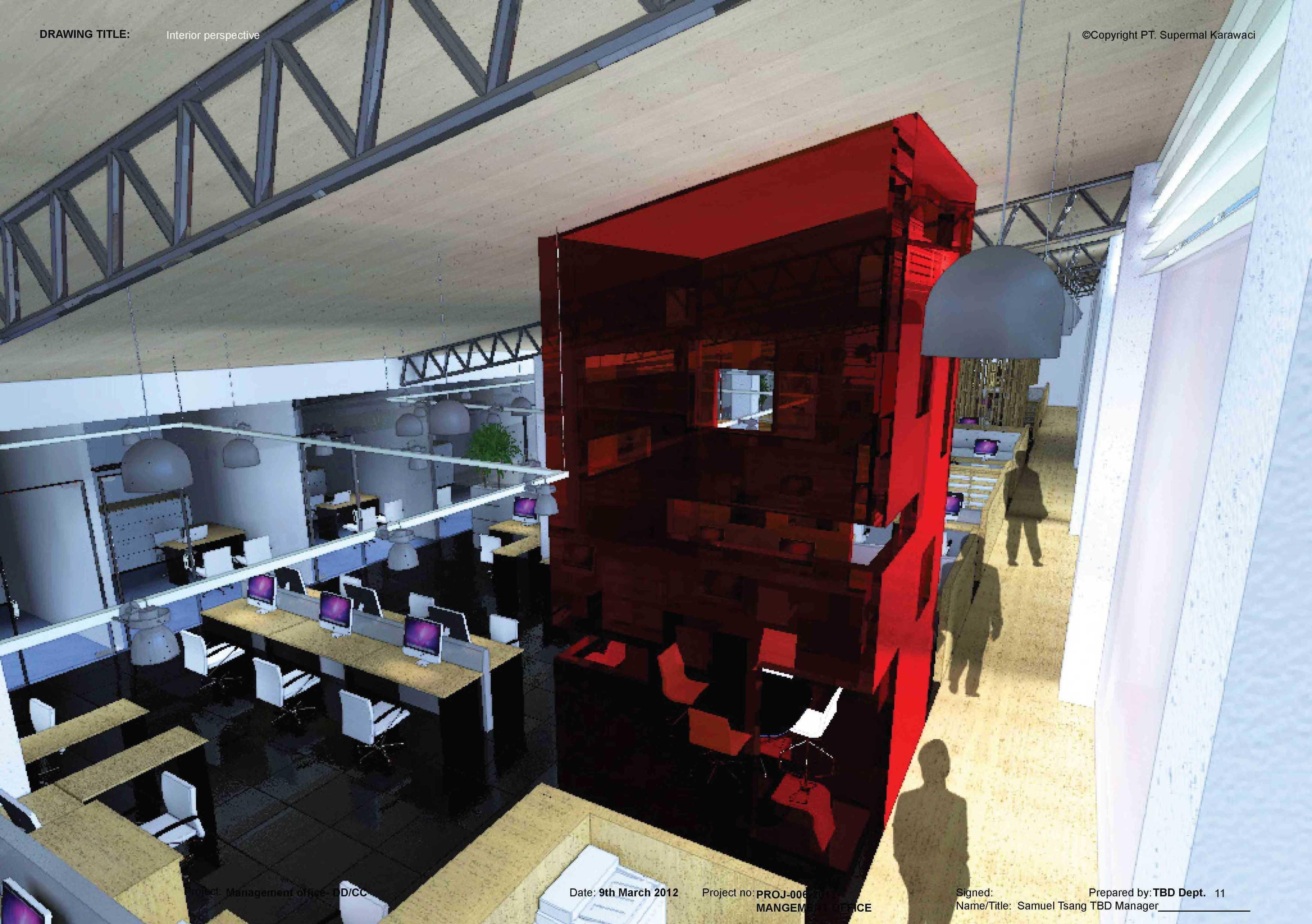 Tau Architect Supermal Karawaci Management Office Karawaci Karawaci Staff Area Industrial  13826