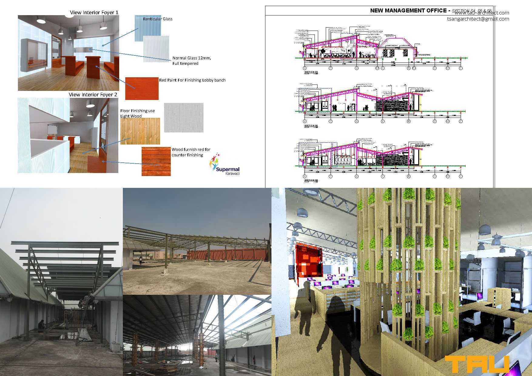 Tau Architect Supermal Karawaci Management Office Karawaci Karawaci Masterplan Industrial  13830