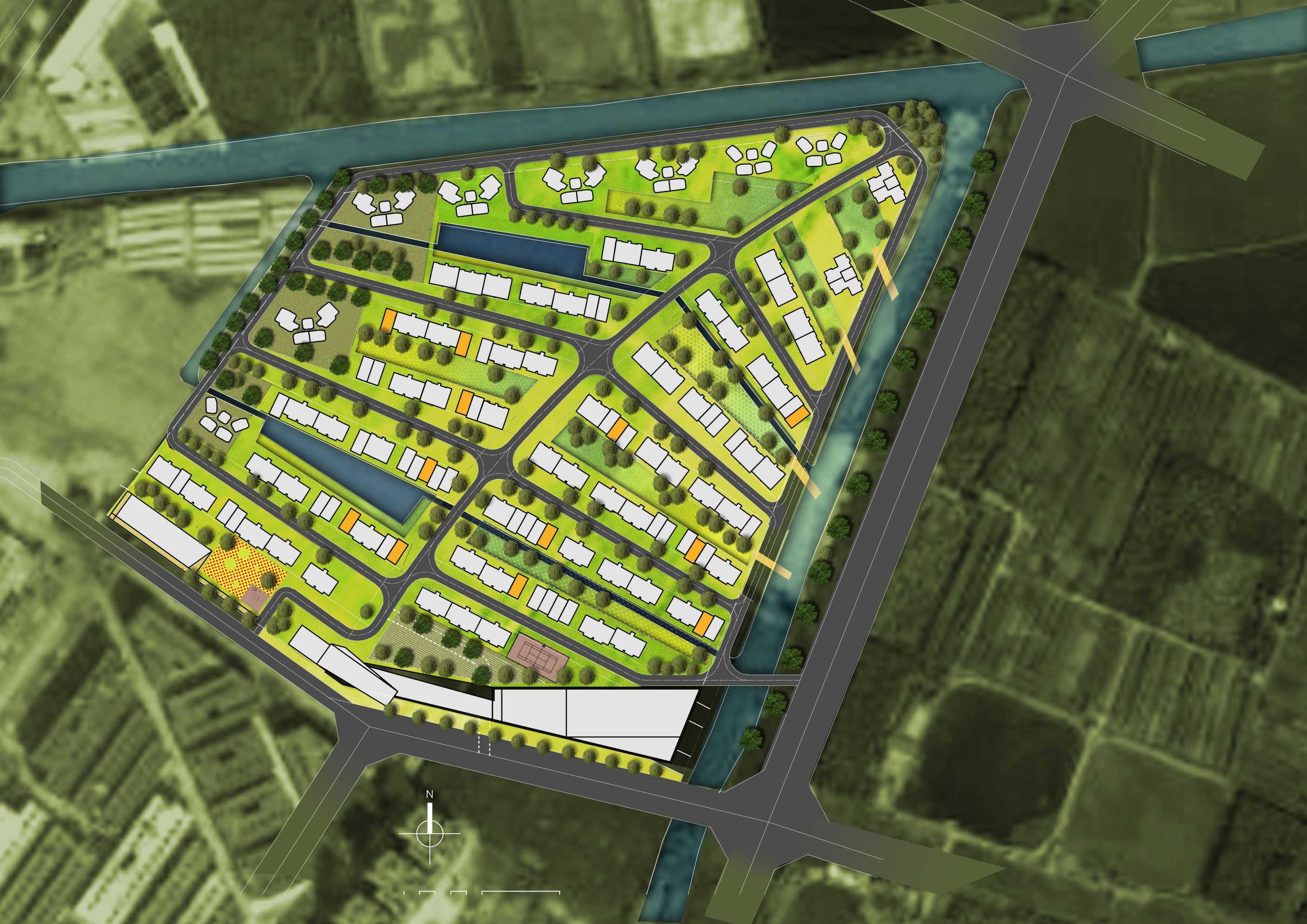 Tau Architect Zhuhai Residential Development Zhuhai,china Zhuhai,china P-Masterplan-Colour Kontemporer  13871
