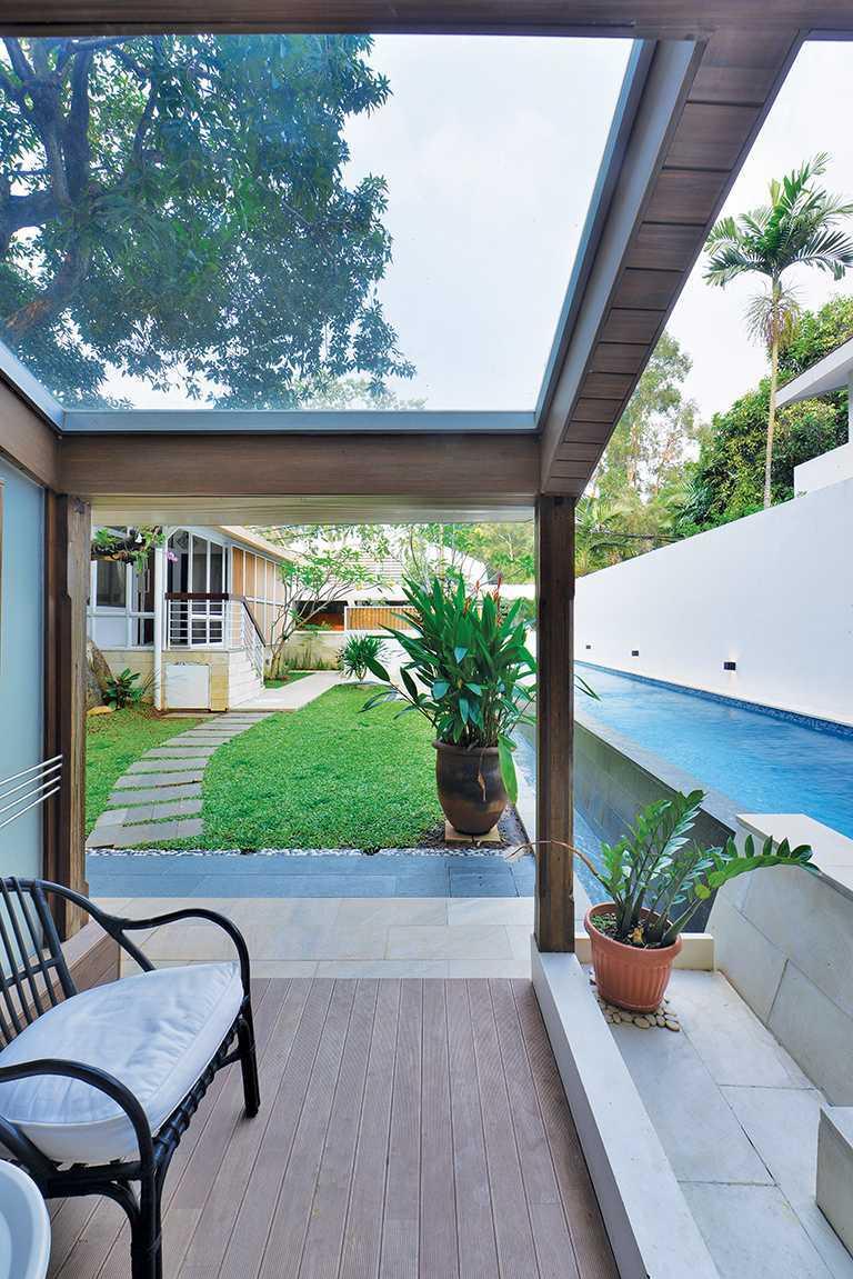 Tau Architect Tsang Residence Jl Fatmatwati Jl Fatmatwati Terrace Tropis  15307