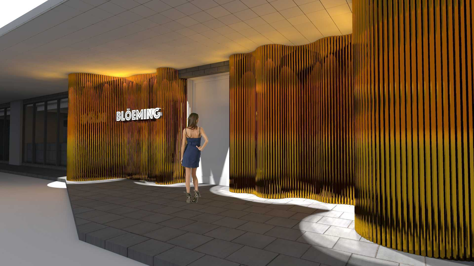 Tau Architect Bloeming Fx Mall Sudirman Jakarta Fx Mall Sudirman Jakarta Entrance-Night   16731