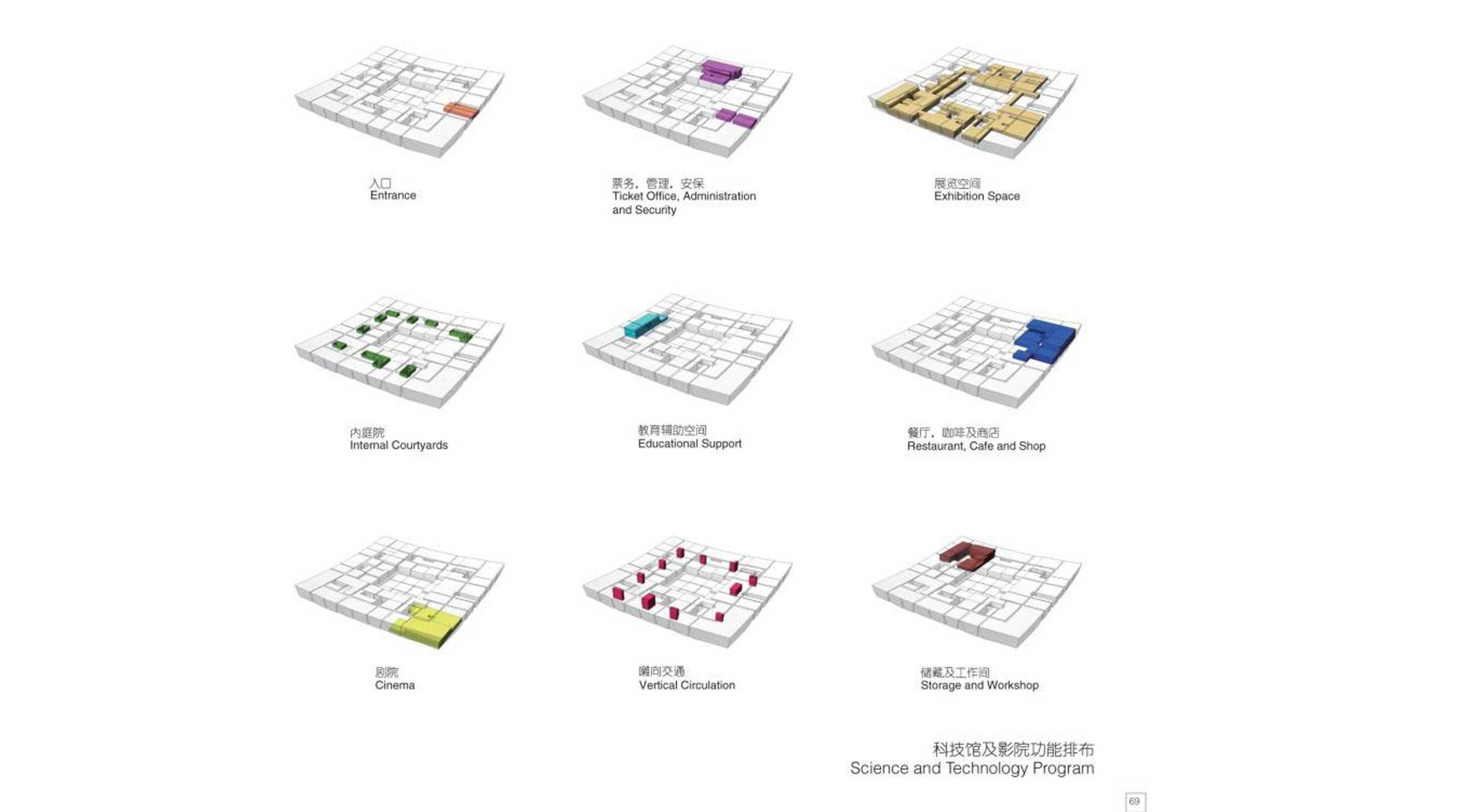 Tau Architect Xian Daming Gong Museum Competition Xian, China Xian, China 3 Kontemporer  38293