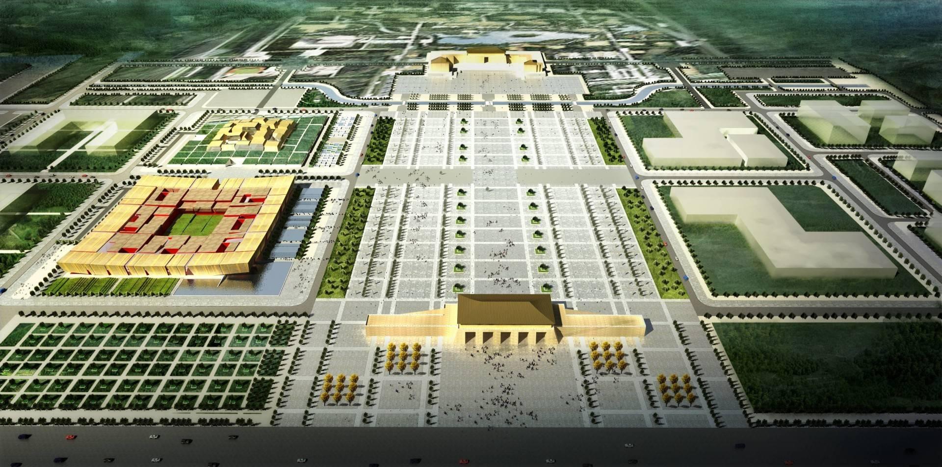 Tau Architect Xian Daming Gong Museum Competition Xian, China Xian, China Photo-4757 Modern  4757