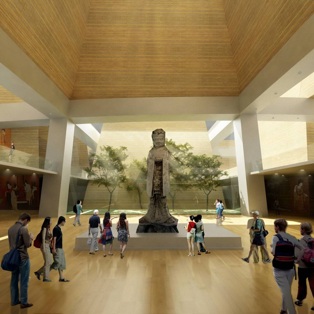 Tau Architect Xian Daming Gong Museum Competition Xian, China Xian, China Interior1 Modern  4760