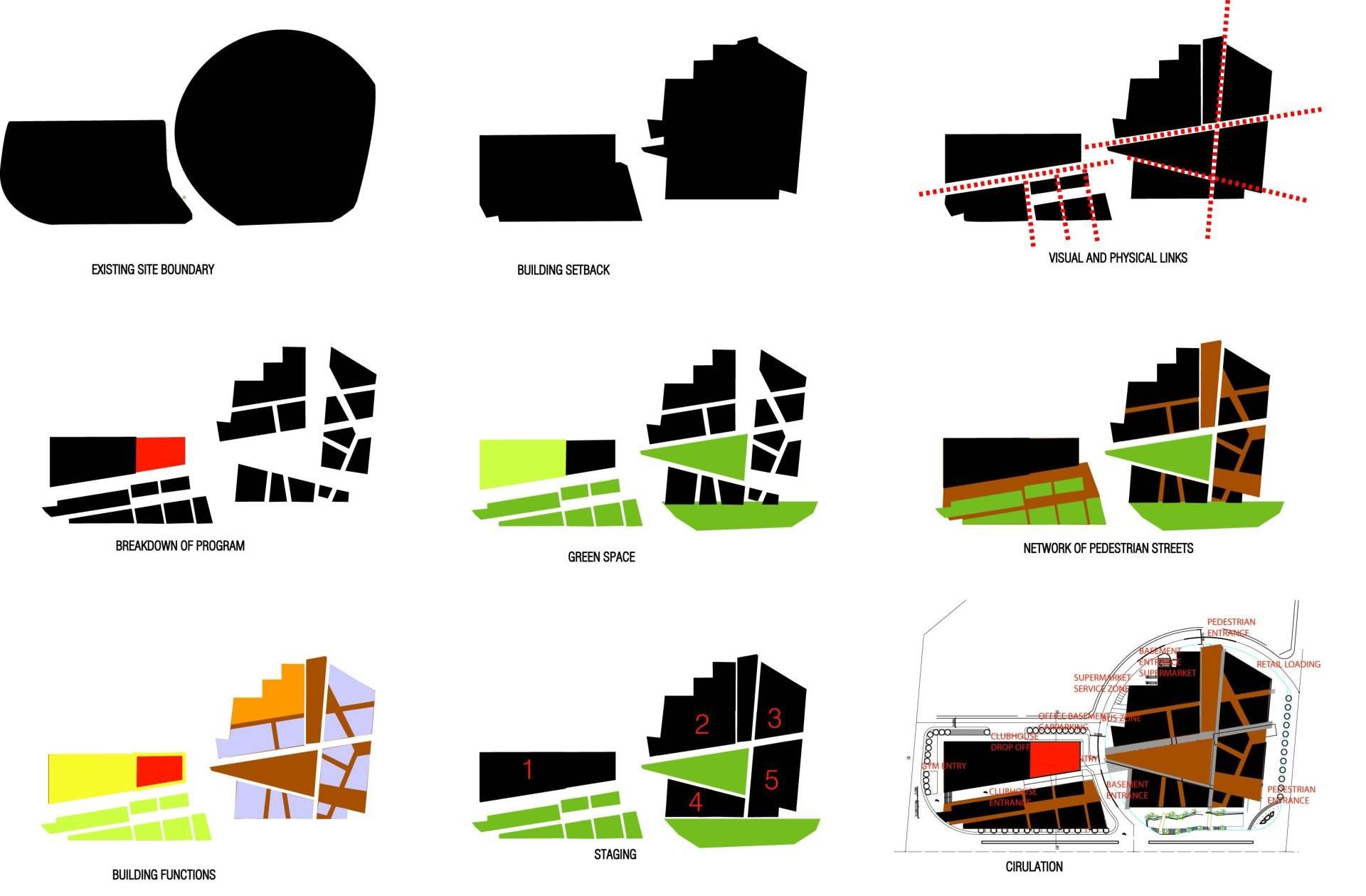 Tau Architect Qidong Commerical Shanghai ,china Shanghai ,china Masterplan Diagram Modern  4825