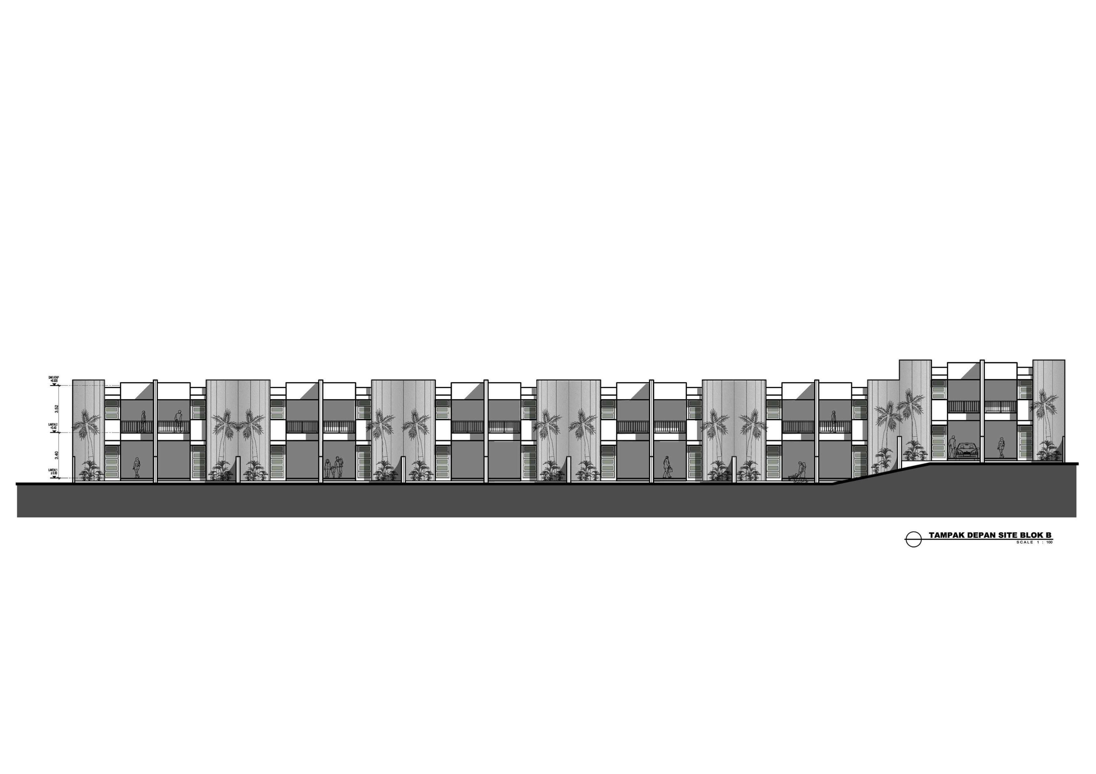 Dedy Townhouse Padasaluyu Jl. Padasaluyu, Isola, Sukasari, Kota Bandung, Jawa Barat 40154, Indonesia Jl. Padasaluyu, Isola, Sukasari, Kota Bandung, Jawa Barat 40154, Indonesia Tampak-Blok Modern  31329