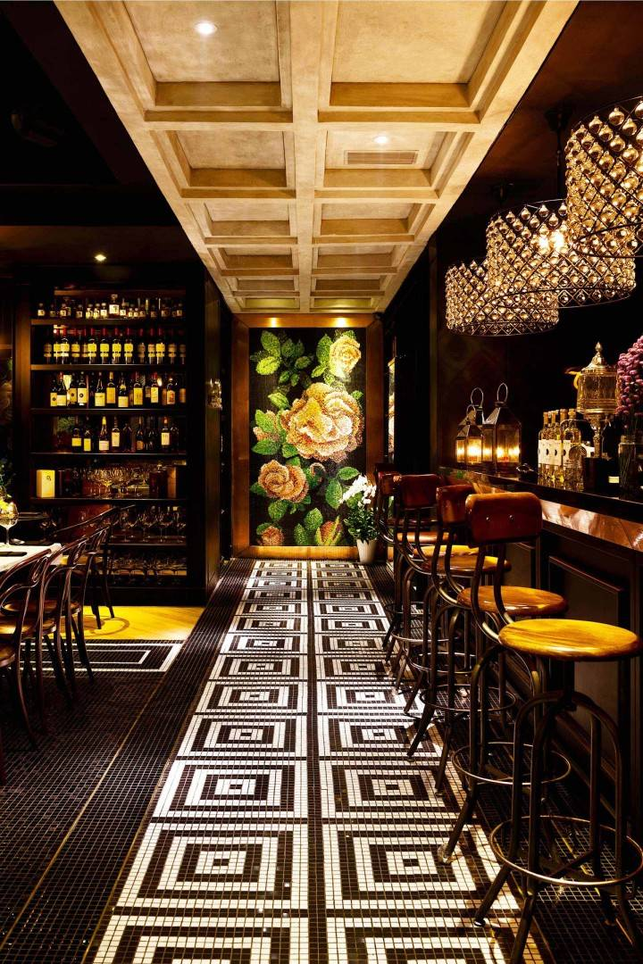 Leo Einstein Fransiscus Wilshire Restaurant Jakarta Senopati 64 - Jakarta Senopati 64 - Jakarta Seating Area Interior View Klasik  7615